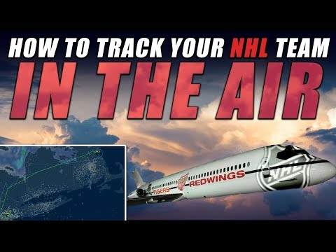 How to Track Your NHL Team in the Air!