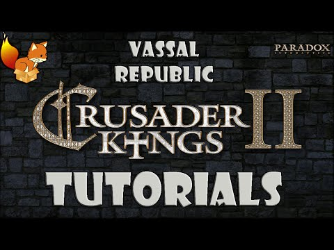 Crusader Kings 2 - How to Create a Vassal Merchant Republic