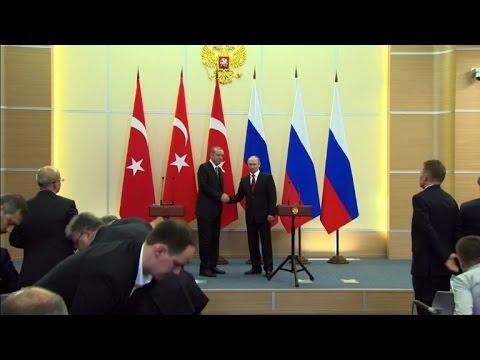 Russia, Turkey agree on Syria safe zones