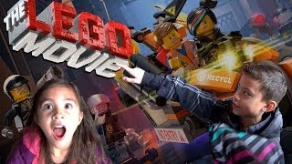 """LEGO MOVIE DAY! Toys """"R"""" Us Building Event and MINECRAFT!"""