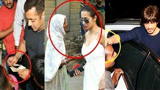 What Bollywood Stars Do When BEGGARS Ask For Mo...