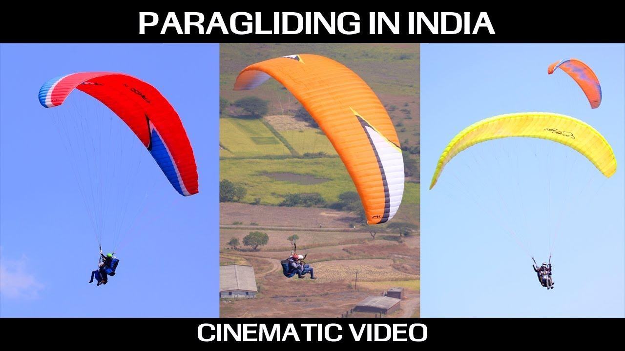 Cinematic : Paragliding in India at Kamshet