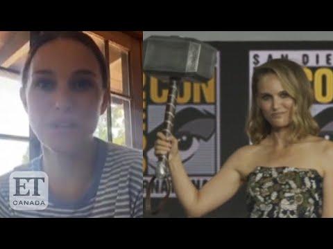 Natalie Portman Talks 'Thor' Prep