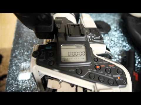 Canon EX1 Camcorder Hi8 + Equiptment Canovision Titanic