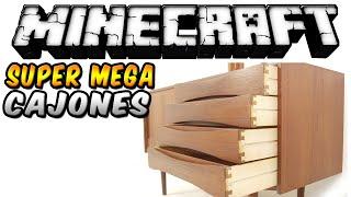 Minecraft - SUPER CAJONES MOD (Guarda lo que quieras en un solo bloque!) - ESPAÑOL TUTORIAL
