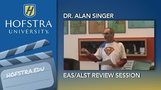 EAS/ALST Review Session with Dr. Alan Singer