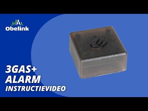 3gas alarm gebruiksaanwijzing instructievideo obelink