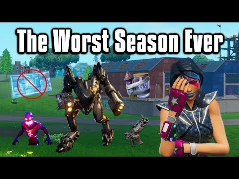 Why Season X Was The Worst Season Ever - Fortnite Battle Royale