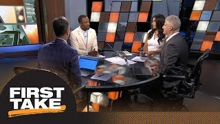 First Take reacts to Todd Gurley's 4-year extension with Rams | First Take | ESPN