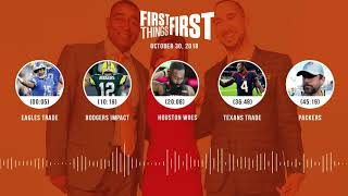 First Things First audio podcast(10.31.18)Cris Carter, Nick Wright, Jenna Wolfe | FIRST THINGS FIRST