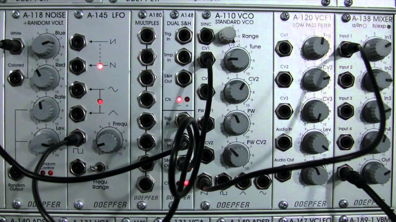 Doepfer A-148 Dual Sample /& Hold Track /& Hold Module
