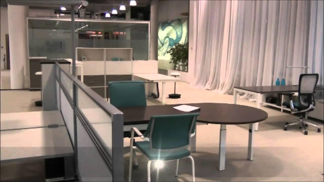 Haworth Showroom Zurich, Office Furniture