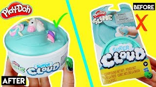 FIXING Play Doh Slime! *extreme slime makeover*