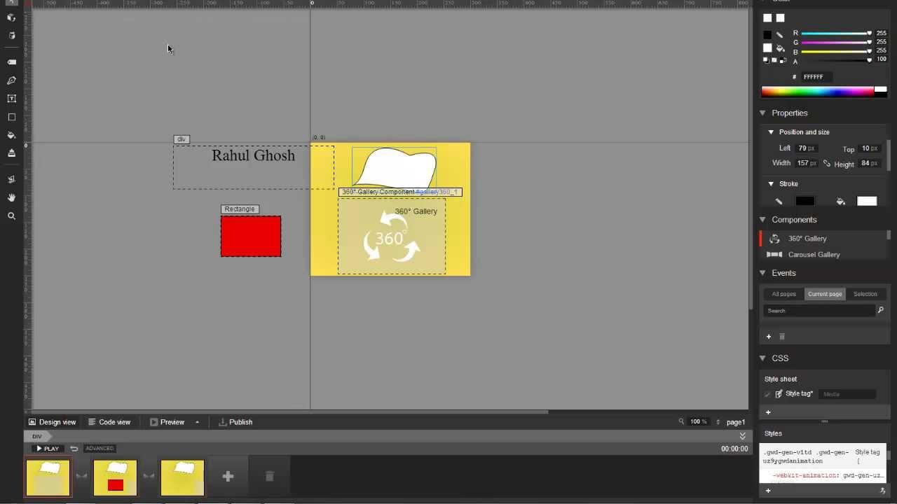 Google Web Designer Overview - YouTube