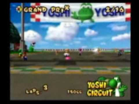 Mario Kart Double Dash With Action Replay