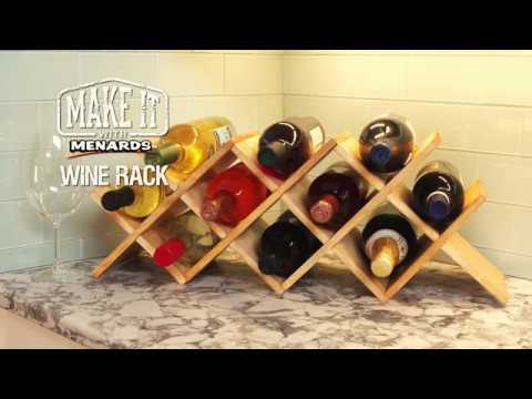 Wine Rack - Make It With Menar...