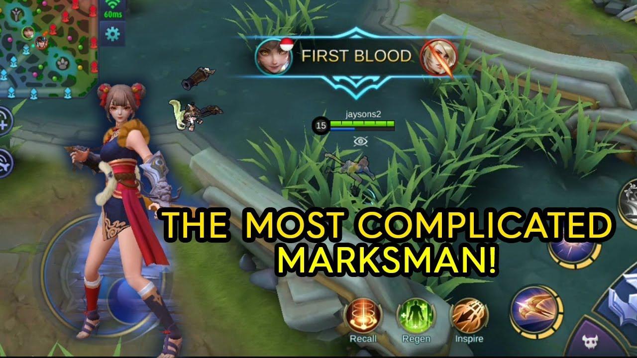 Moonton Keluarkan Hero Marksman Tersulit Dan Sakit Di Mobile