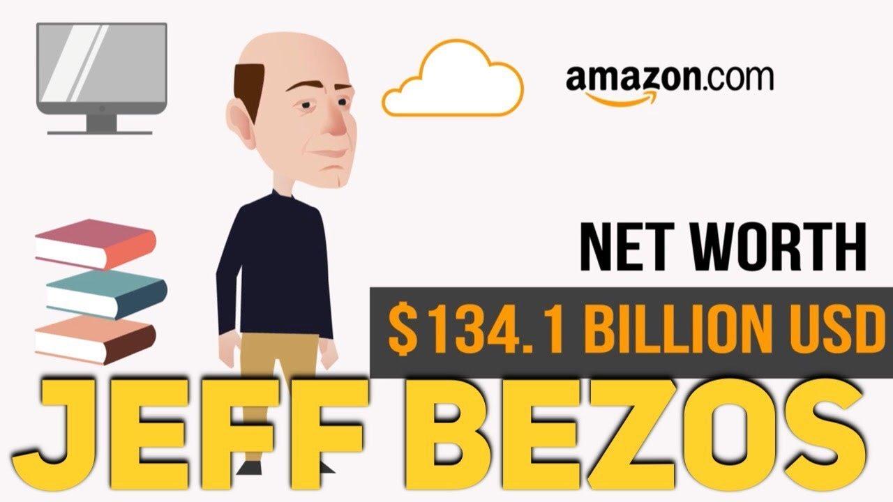 Amazon CEO Jeff Bezos' business empire, visualized