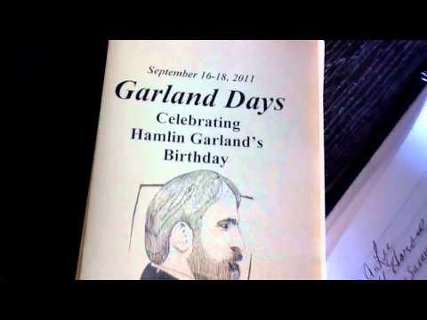 Fly Hamlin Garland DAY in West Salem Wisconsin