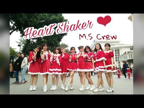 "[KPOP IN PUBLIC CHALLANGE] TWICE (트와이스) ""Heart Shaker"" Dance Cover By M.S Crew From Vietnam"
