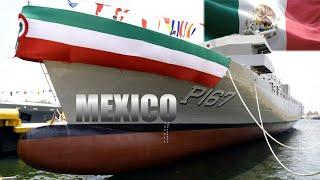 Construcción y Botadura de Nueva Patrulla Oceánica de la Armada de México