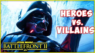 STAR WARS Battlefront 2 - Heroes vs. Villains! Beast Mode Solo & Bossk | Blitzwinger