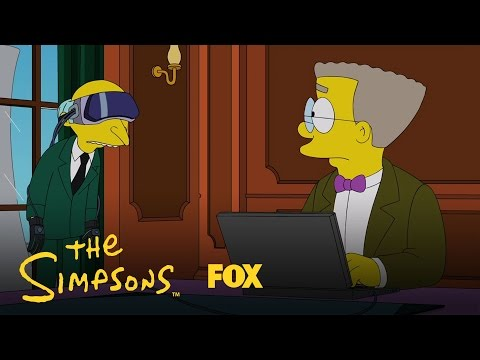 Thumbnail: Mr. Burns Watches Virtual Reality Dragon Porn | Season 28 Ep. 2 | THE SIMPSONS