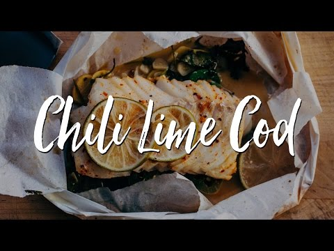 Chili Lime Cod En Papillote