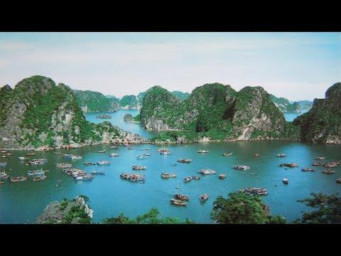 Premier voyage au Vietnam à la Baie d'Halong en 1996