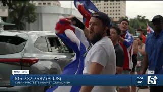 Cuban Protests against Communism p1