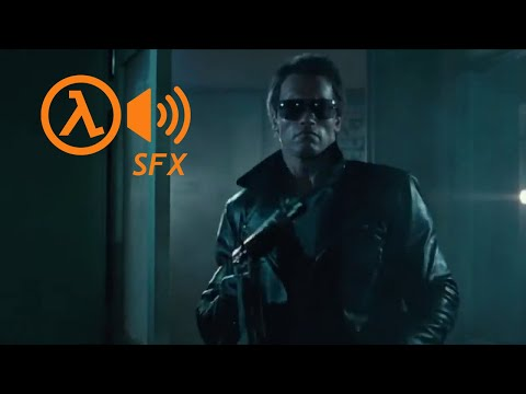 The Terminator dubbed with Half-Life SFX