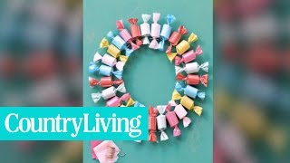 5 Festive Do-it-Yourself Christmas Wreath Ideas | Country Living