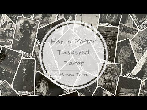 開箱  哈利波特啟蒙塔羅牌 • Harry Potter Tnspired Tarot // Nanna Tarot
