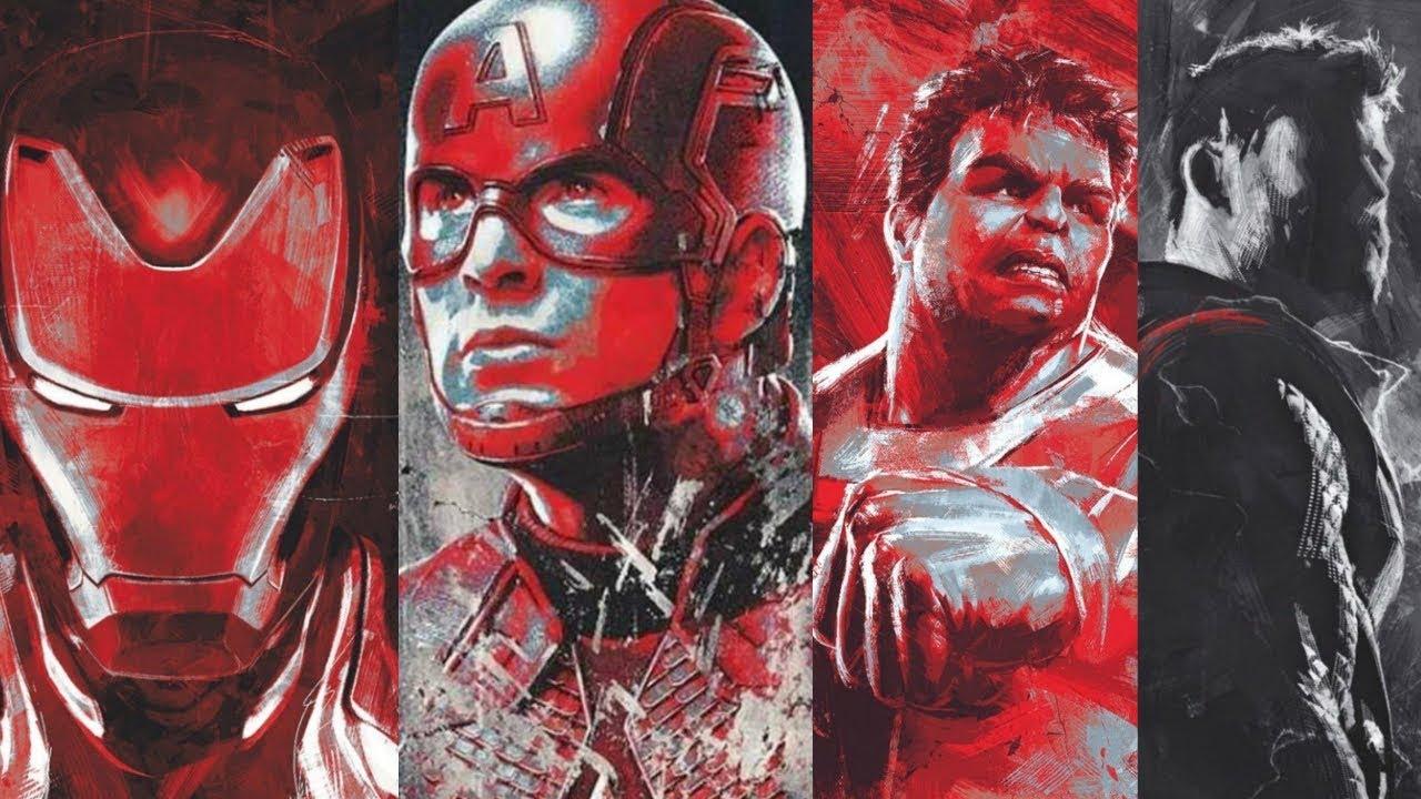 Leaked Official Avengers Endgame Promo Art Youtube