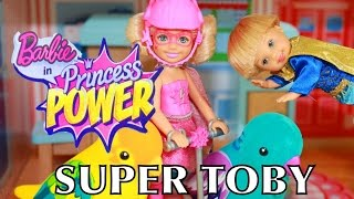 Frozen Disney Princess Anna Kids Super Toby Little Live Pets Bird Barbie in Princess Power movie