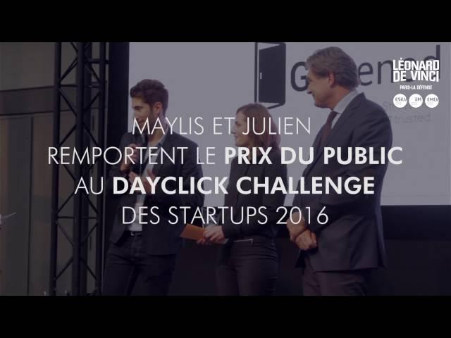 Gopened, prix du public au Dayclick Challenge des startups