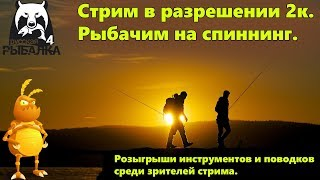Спиннинг Тестовый стрим в 2к Русская рыбалка 4 Russian Fishing 4