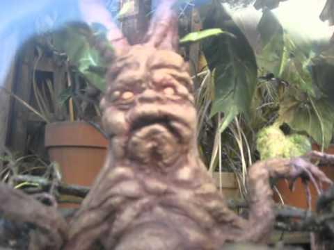 Mandrake Cries Wizarding World Of Harry Potter Youtube