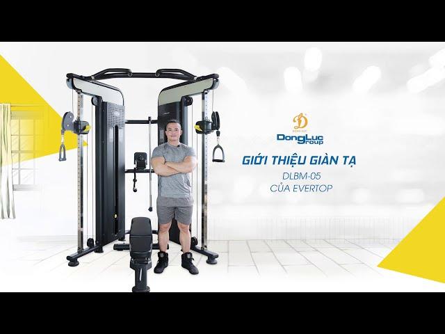 Giới thiệu giàn tạ phòng gym - Monozy media