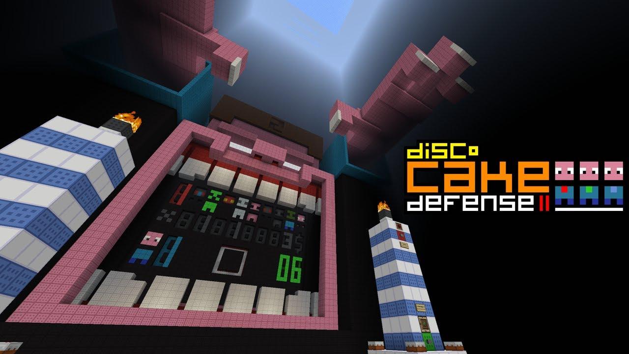 Minecraft Cake Defense 2 Youtube