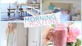 Spring Morning Routine For School 2015