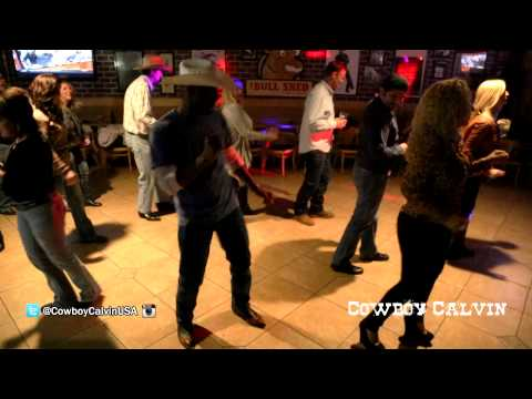 Cowboy Calvin Line Dancing @ The Bullshed (Bakersfield, CA)