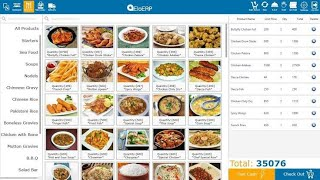 Food Reservation in restaurants management software