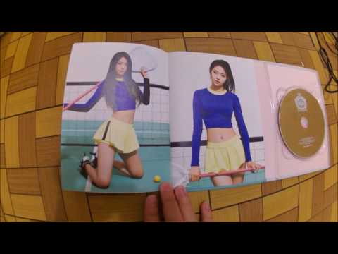 [Unboxing] AOA - Heart Attack Album