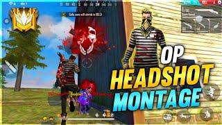 BEST HEADSHOT MONTAGE || OP KILLING HIGHLIGHTS || FREE FIRE BATTLEGROUND