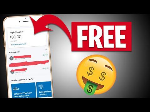 Get PAID $100 In FREE PAYPAL MONEY *New Website* | Make Money Online