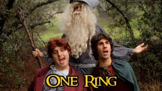 Repeat youtube video The Hobbit - ONE RING (One Direction 'One Thing' Parody)