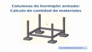 4.- Cálculo de materiales de construcción para columnas de hormigón armado - Metrados TCICH4