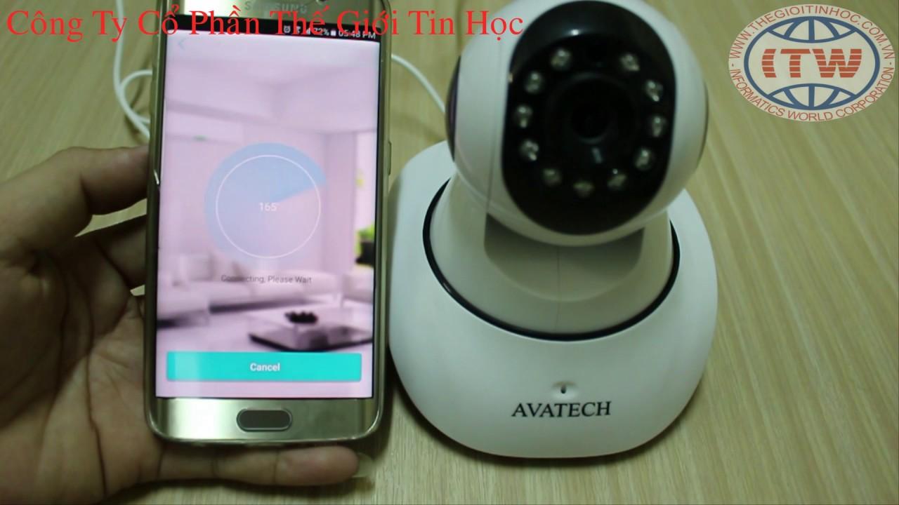 Hướng dẫn cài đặt camera Vantech, Avatech 6300 trên ICSee - Thế Giới Tin Học