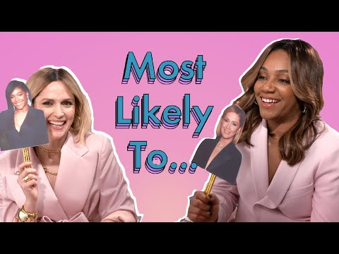 Tiffany Haddish And Rose Byrne Argue Over Who's Funnier In Like A Boss Interview | Cosmopolitan UK
